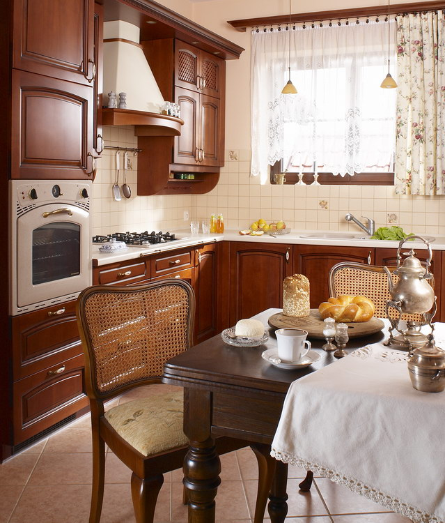 Kuchnie drewniane 2  Stabart  Meble Kuchnne na wymiar Rzeszów  Kuchnie Kocur -> Kuchnie Drewniane Rzeszów