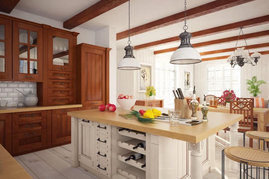 Kuchnie Drewniane Wizualizacje Drewpol Meble Kuchnne Na